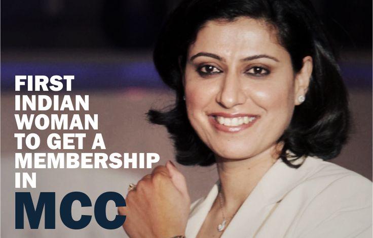 First Women to Get Membership in MCC Read more: http://goo.gl/SvywiJ #MCC #Membership #AnjumChopra #Cricketer #Cricket #IndianWomenTeam #Uthestory