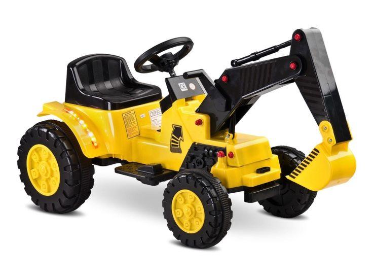 Kup już teraz Toyz Digger żółty w Satysfakcja.pl >  Błyskawiczna wysyłka i najniższe ceny!