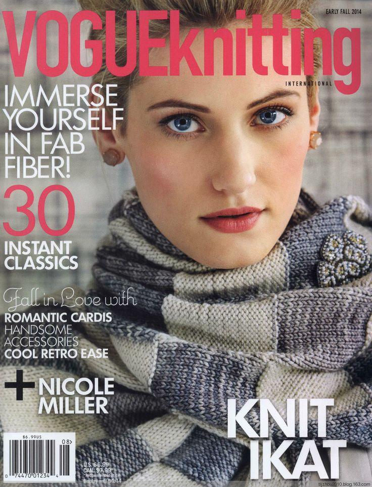 【转载】Vogue Knitting 2014 秋 - liuxiaoben1的日志 - 网易博客