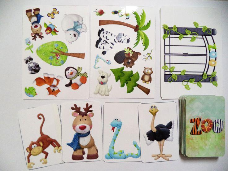 Игра «ЗООПАРК» - раздача материалов для распечатывания