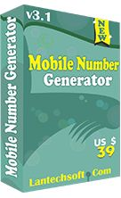 Mobile Number Generator generates Mobile Numbers of any numbers of digits . It can generates mobile numbers in either SEQUENTIAL or RANDOMLY in the given range. It provides a crore numbers list with in few seconds.