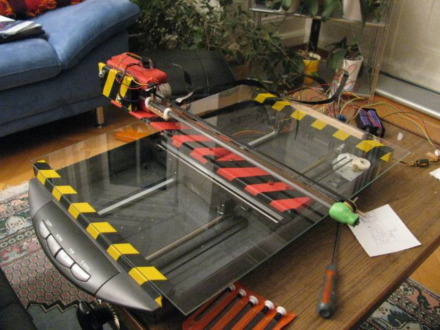 How to make a XY Plotter/Printer/Scanner from recycled parts - Parallax Forums