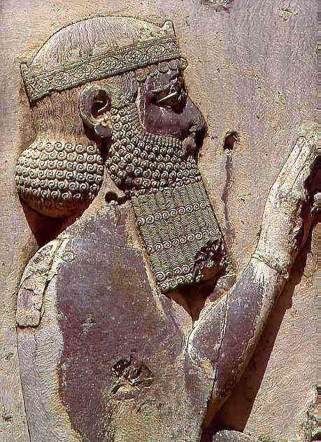 """""""I am Darius the Great King, King of Kings, King of countries containing all kinds … an Achaemenian, a Persian, son of a Persian, an Aryan, having Aryan lineage."""""""