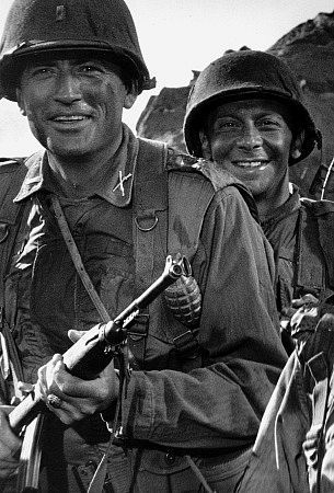 """Gregory Peck and Norman Fell 