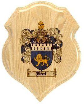 $34.99 Kent Coat of Arms Plaque / Family Crest Plaque