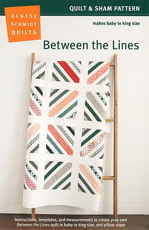 Between the Lines pattern. Reminds me a bit of the Union Jack.  Sizes Baby-King.