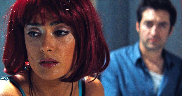 """Americano"" movie still, 2011.  L to R: Salma Hayek, Mathieu Demy."
