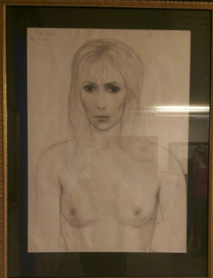 ILYA SERGEEVICH GLAZUNOV Женский портрет. Париж. 1968  Women s Portrait. Paris. 1968