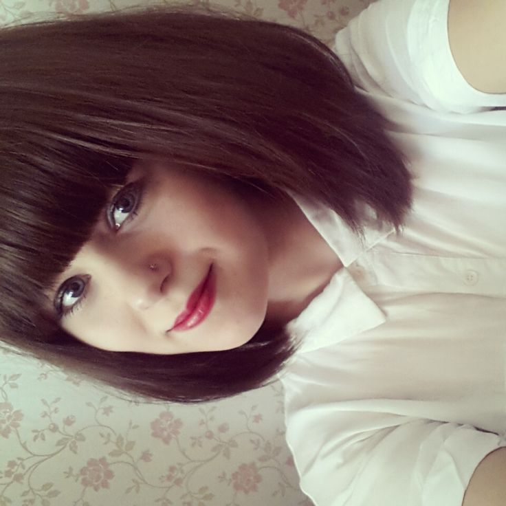 I want long hair but then I see pictures like this and I want to chop it off again. hmmmm...