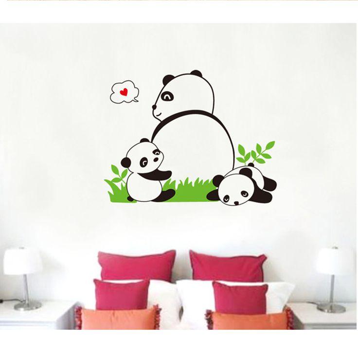 Panda Animal Removable Room Vinyl Decal Art Wall Home Decor Kid DIY Sticker http://www.ebay.com/itm/PANDA-Removable-Room-Vinyl-Decal-Art-Wall-Home-Decor-Kids-DIY-Stickers-Mural-/251609268513
