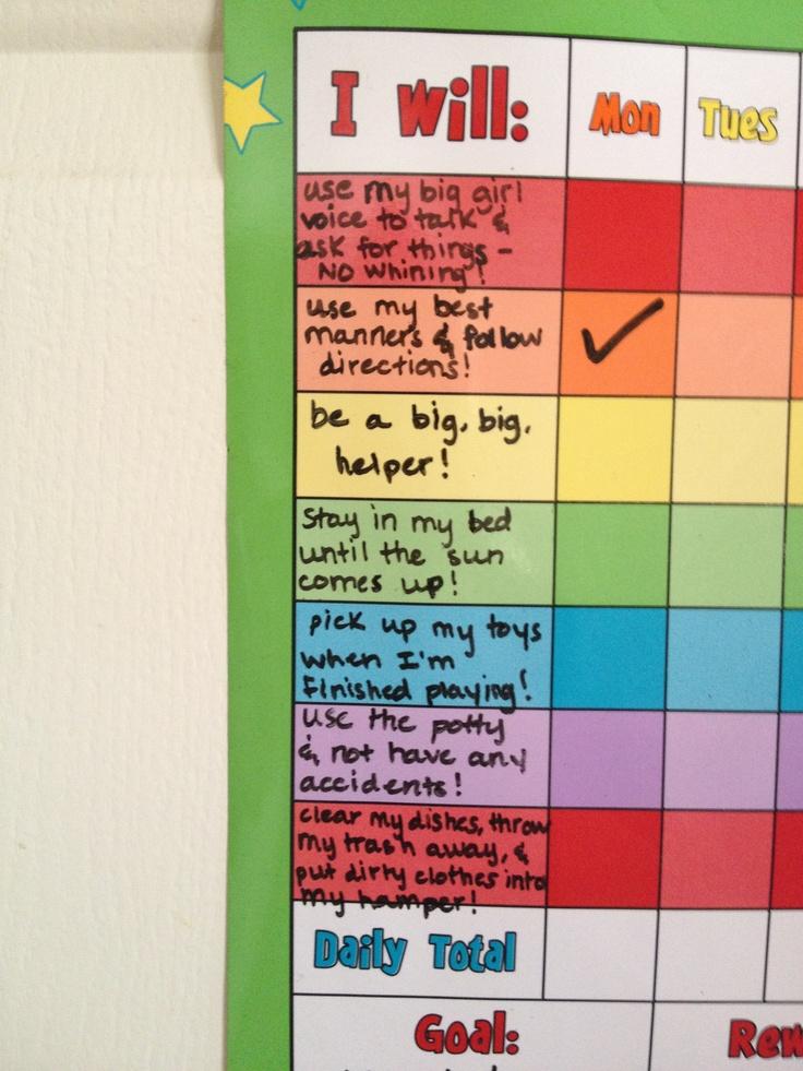 Clroom Reward Chart Ideas Laney S Toddler Kudos To Mom Liz Caelie