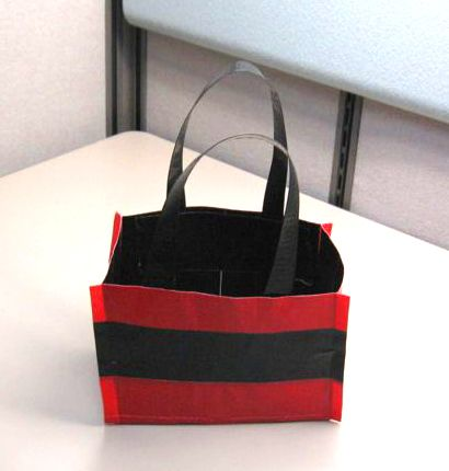 How to Make a Duct Tape Tote in 9 Steps....is it bad that I am going to make this?