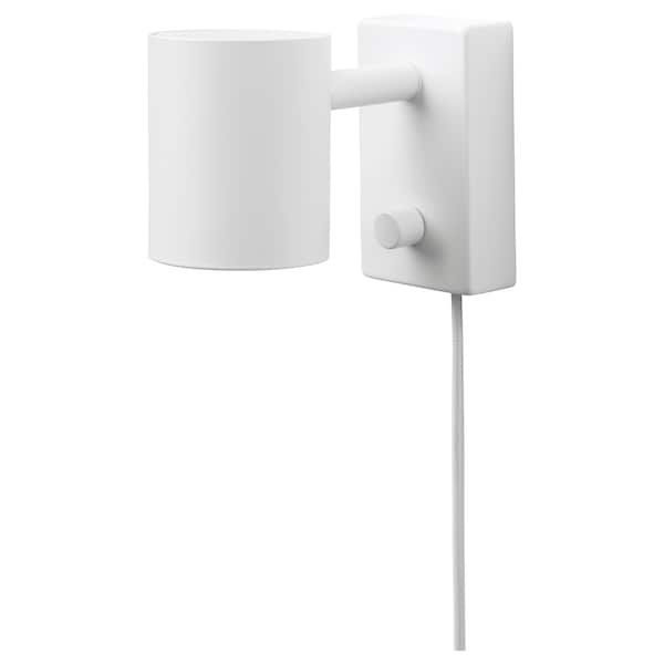 Nymane Vaeg Laeselampe Hvid Ikea Lampe De Lecture Applique Liseuse Lampe