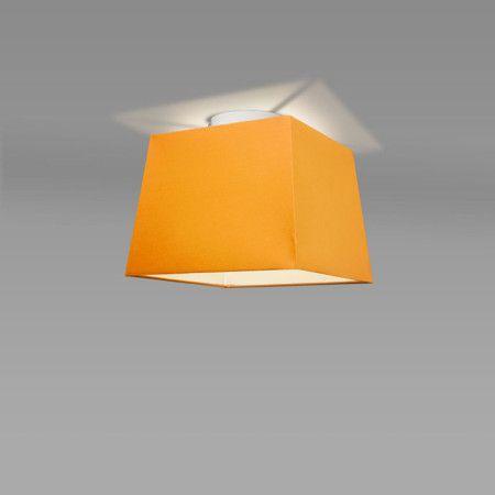 Plafon Ton 30 kwadratowy pomarańczowy