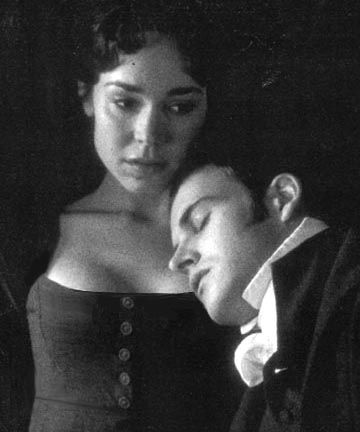 Frances O'Connor, Fanny Price & Jonny Lee Miller, Mr. Edmund Bertram - Mansfield Park directed by Patricia Rozema (1999) #janeausten