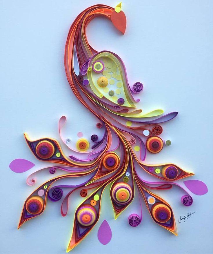 Bezaubernde quilling papierkunst von angelica botero