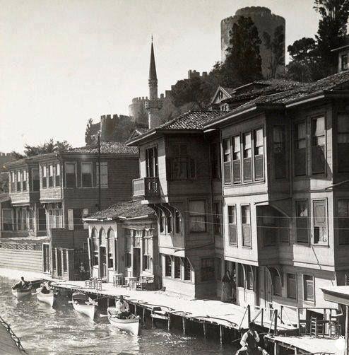 ✿ ❤ Bir Zamanlar İSTANBUL, 1880 Senesinde Rumeli Hisarı