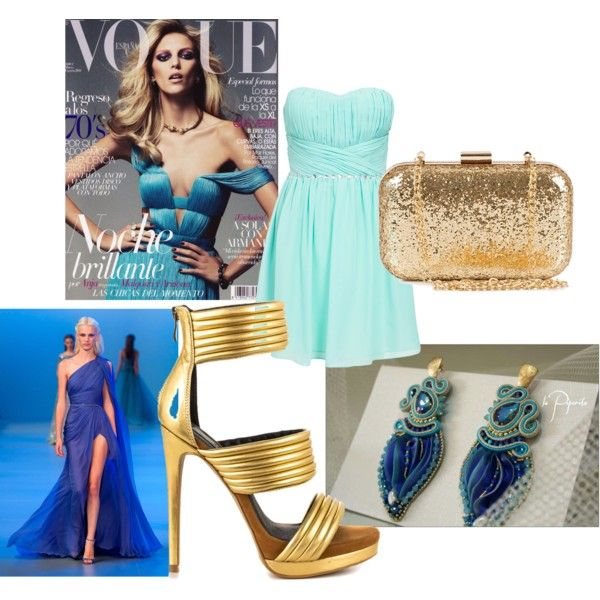 Soutache earrings by veronica-papi on Polyvore featuring moda, Mia Limited Edition, NLY Accessories and Elie Saab