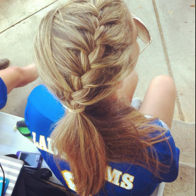 Braided Hair For Soccer