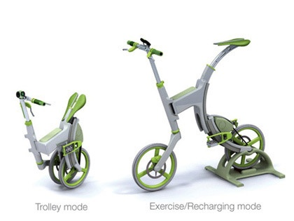 GrassHopper able to transform to troley and exercise mode