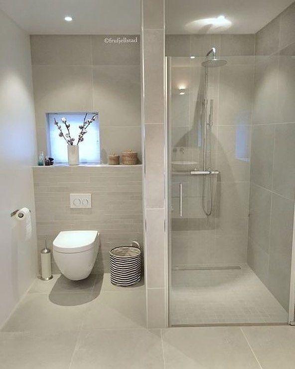 A really nice guest bathroom @frufjellstad …
