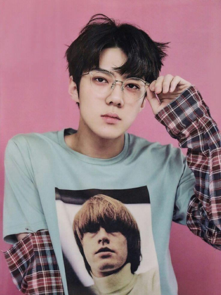 EXO Sehun Lucky One.