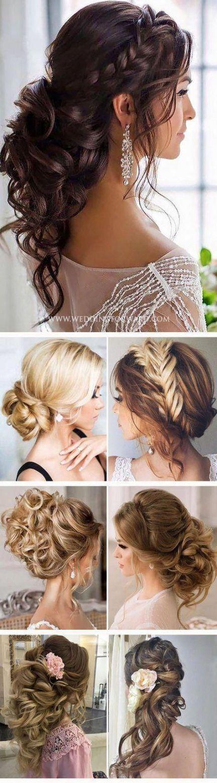 Frisuren für mittellanges Haar mit Stirnband Half Up 64+ Ideen