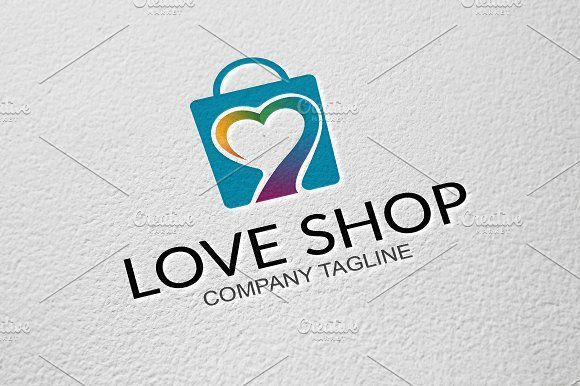 Love Shop by GoldenCreative on @creativemarket