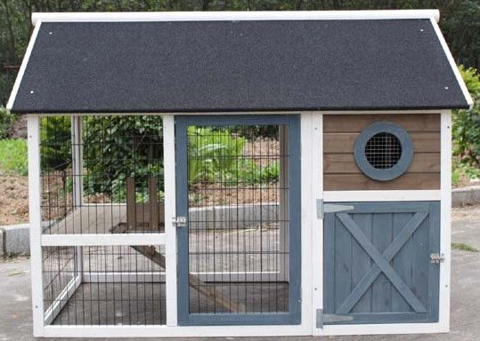 Hutches & Cottontails Bunny Barn Easy-To-Build Rabbit Homes. Our large rabbit barn offers your bunnies plenty of room to roam free while keeping them protec