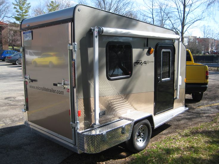 find this pin and more on teardrop trailers and tiny campers - Tiny Camping Trailers