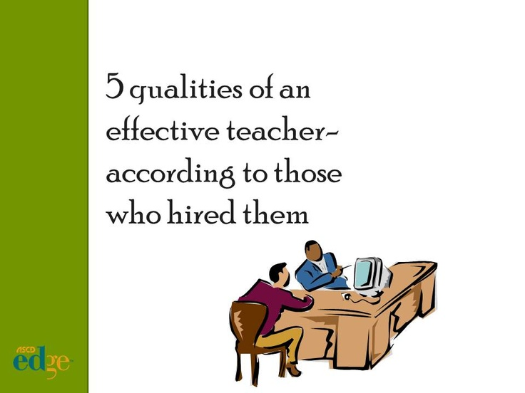 Top five qualities of effective teachers, according to students