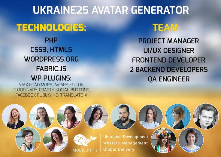 Creating Ukraine25 FREE Avatar Generator