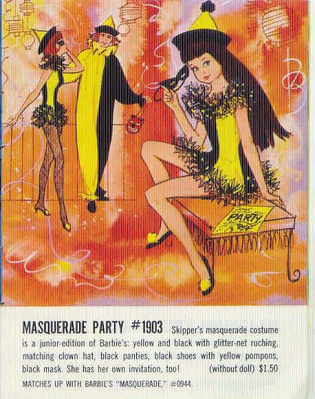 Masquerade Party With Skipper, Barbie & Ken