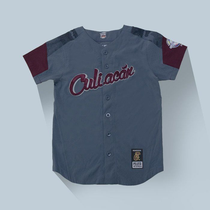 Baseball-Other 204: Tomateros De Culiacan 2017 Casaca Oficial Gris Baseball Jersey By Pelota Wuanga -> BUY IT NOW ONLY: $129.99 on eBay!