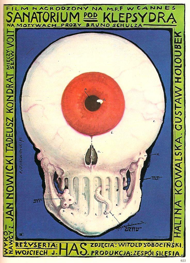 franciszek starowieyski, poster from graphics, 1974