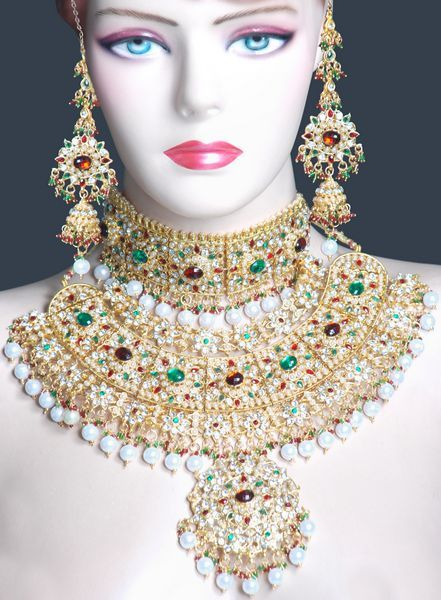 152 best Indian Jewelry images on Pinterest Indian bridal jewelry