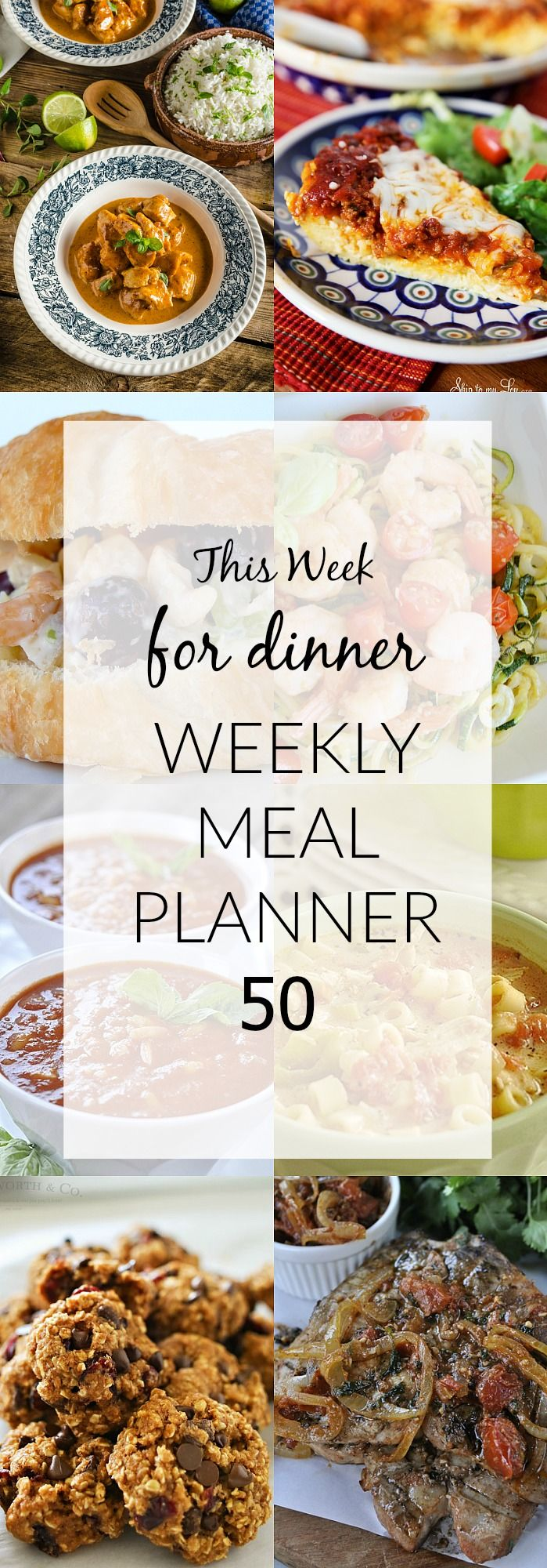 Weekly Meal Plan to make your life easier!