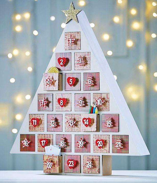 34 Best Advent Calendars Images On Pinterest Wooden