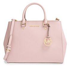 Michael Kors light pink tote bag