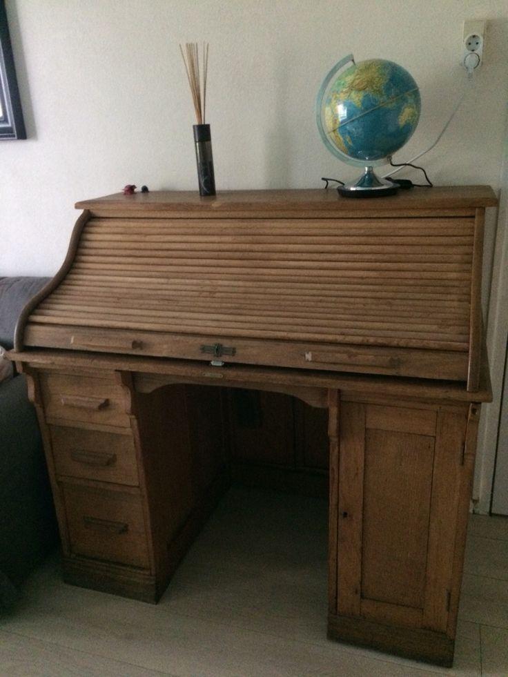 Cilinderbureau - bureau - dressoir