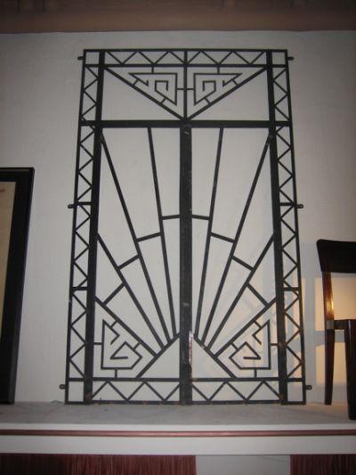 1000+ Images About Art Deco Gates On Pinterest