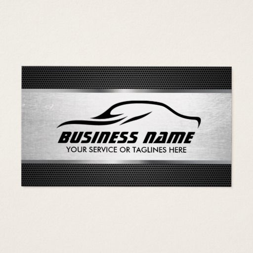 164 best automotive business cards images on pinterest lyrics automotive auto repair cool silver professional business card reheart Choice Image