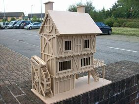 Tudor Mill And Water Wheel Google Search Gingerbread