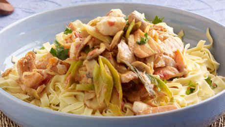 Love fish and pasta? Try SuperValu's Salmon Tagliatelle. Click for the delicious recipe