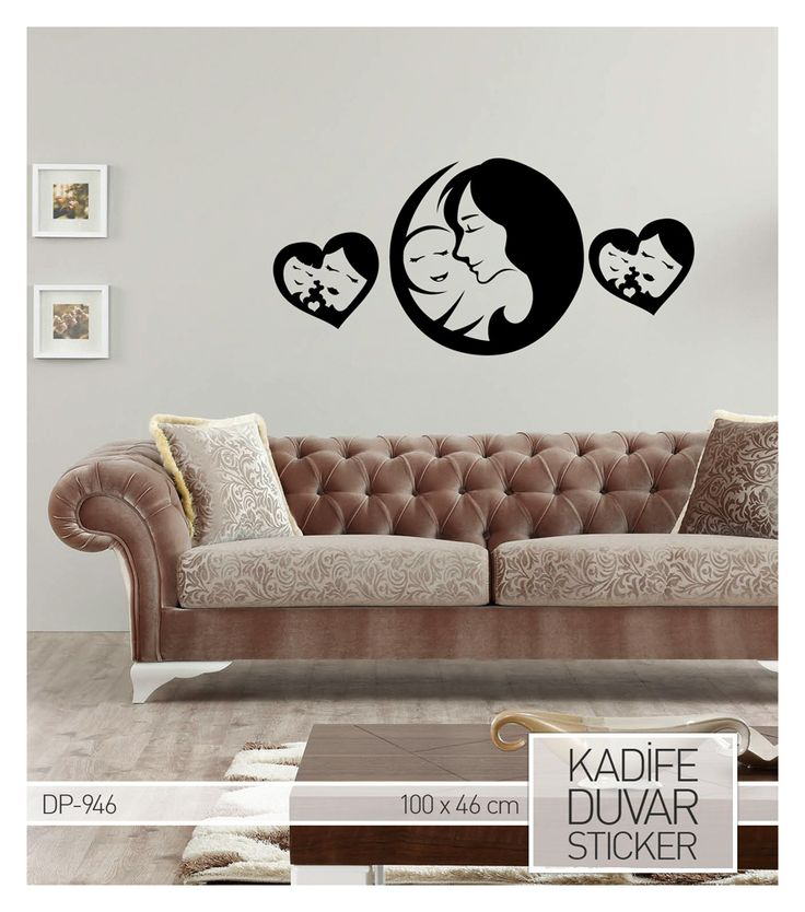 DP-946 Kadife Duvar Sticker 100X46 Cm ::