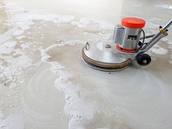 Best 25 cleaning concrete floors ideas on pinterest for Homemade concrete cleaner