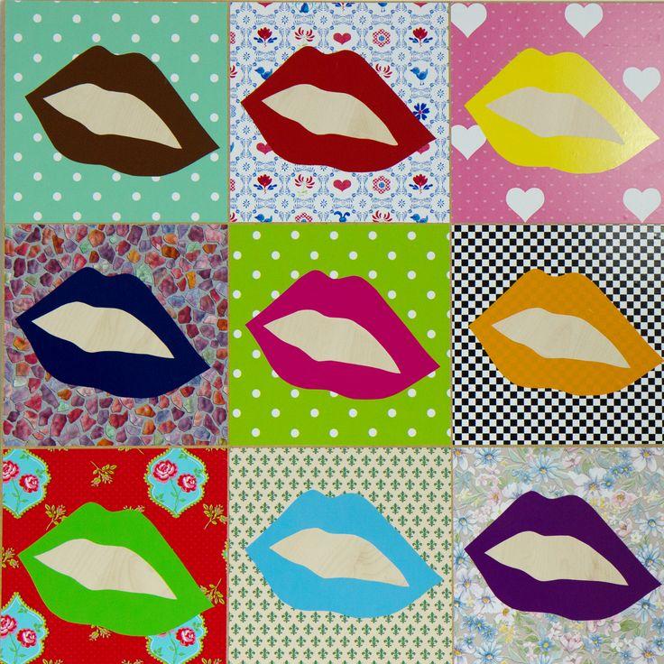 Pop art w stylu d-c-fix!
