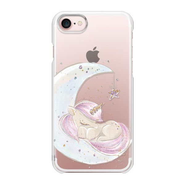 Sleeping Baby Unicorn - iPhone 7 Case And Cover ($35) ❤ liked on Polyvore featuring accessories, tech accessories, iphone case, apple iphone case, iphone cover case, iphone cases, slim iphone case and unicorn iphone case