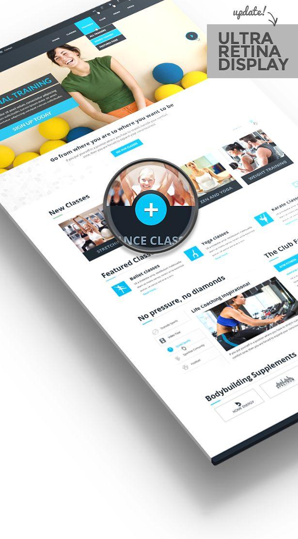 GYM WordPress Sport Theme