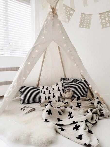 For kids room  wigwam Indians)